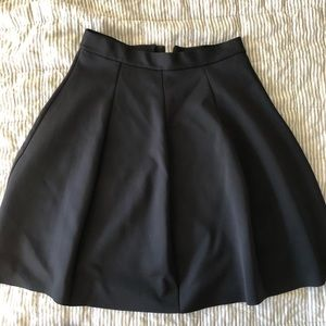 COS Scuba skirt, navy size L.